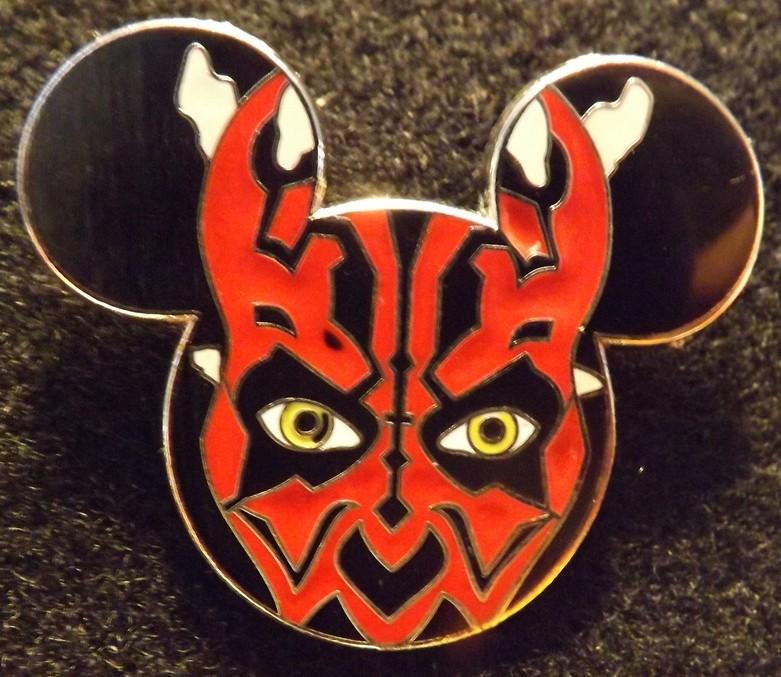 Darth Maul Mickey Icon Head