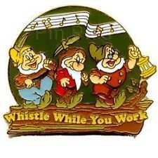 Whistle While You Work Doc, Happy and Grumpy
