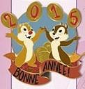 Chip & Dale Bonne Annee 2015
