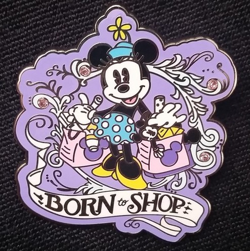 Minnie Mouse Born to Shop