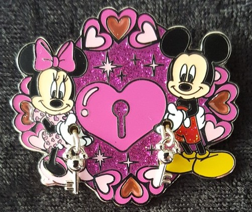 Mickey and Minnie Lock and Key