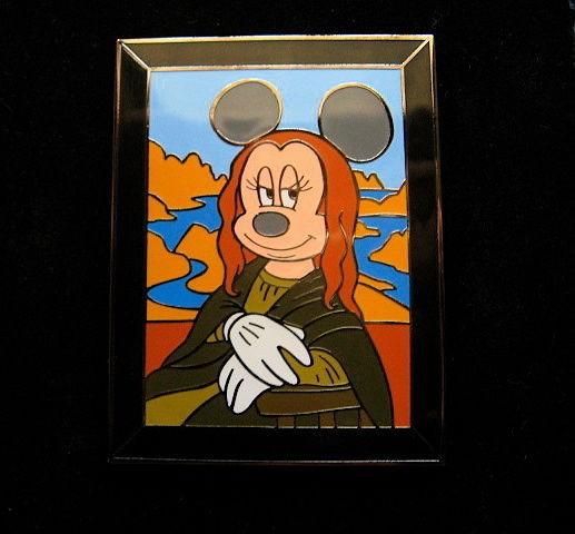 Minnie Mouse as Mona Minnie