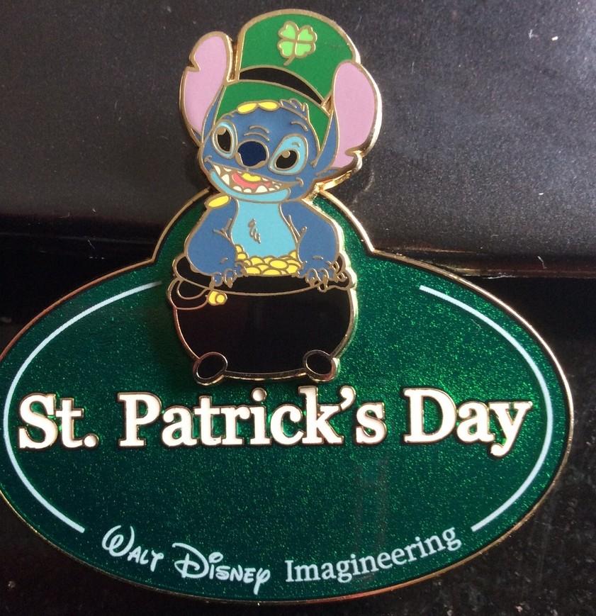 Stitch St. Patrick's Day