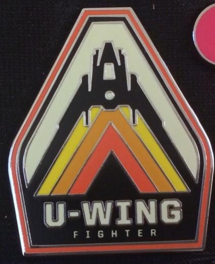 U-Wing Fighter Pin