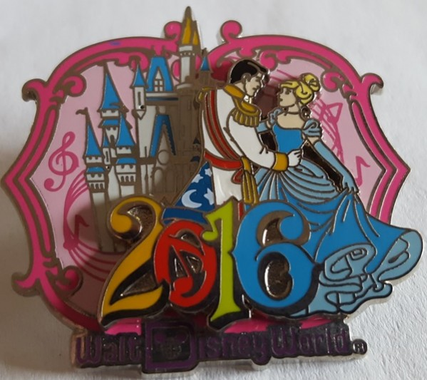Disney Cinderella and Prince Charming 2016