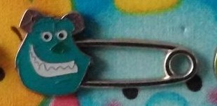 Sulley safety pin