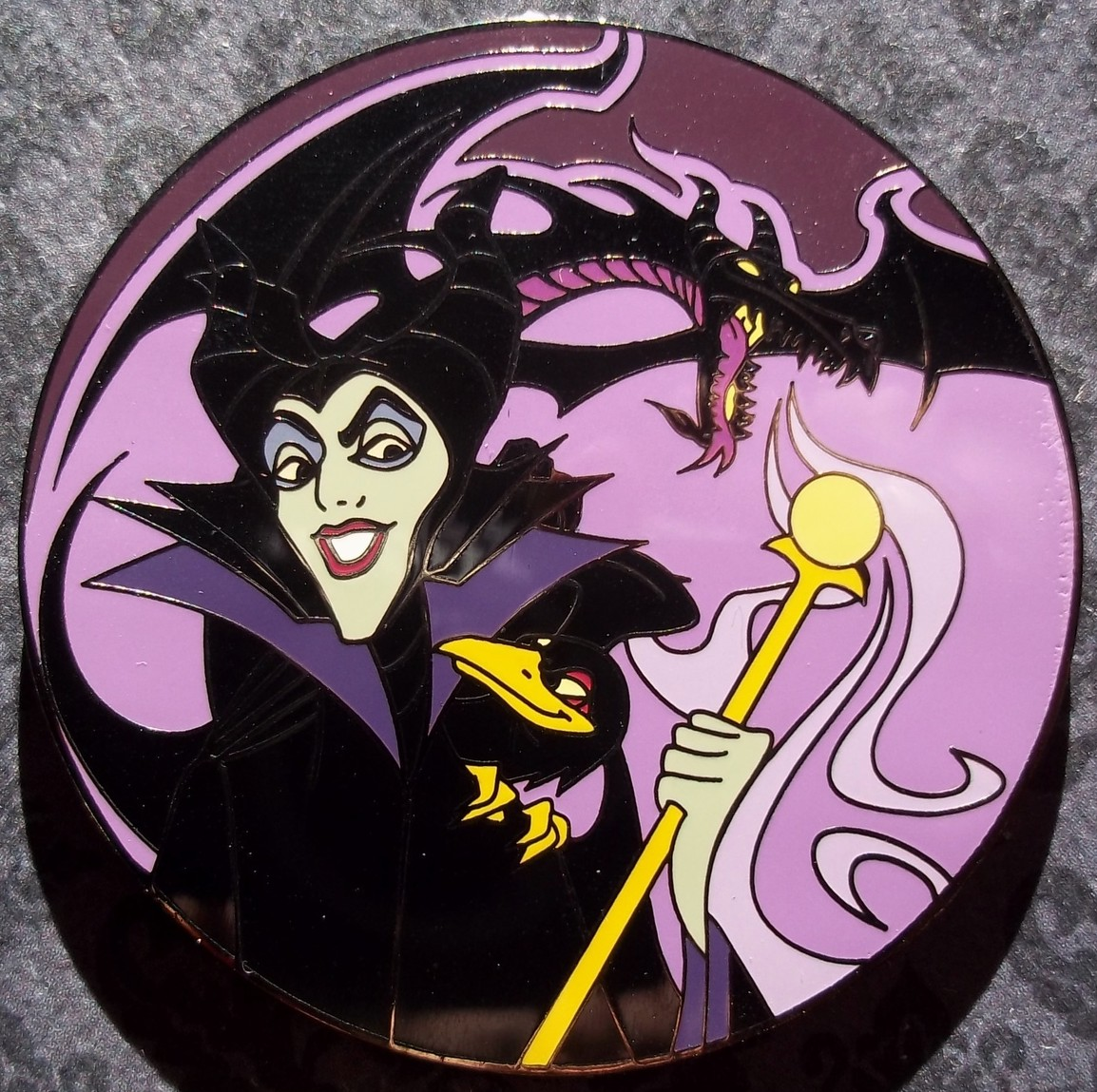 Maleficent and Dragon Jumbo - Maleficent | Trader Gypsy