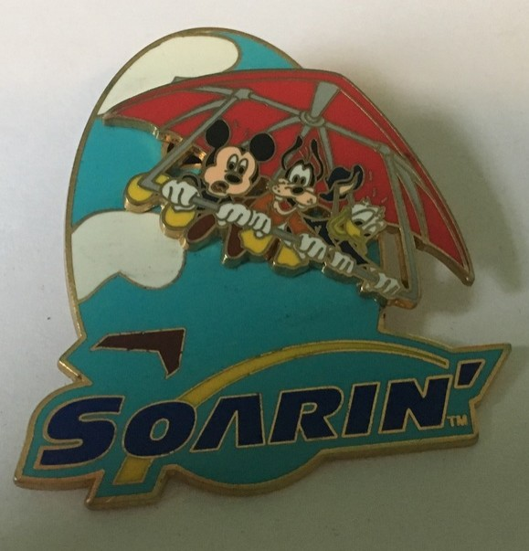Soarin' with Mickey, Goofy, and Donald