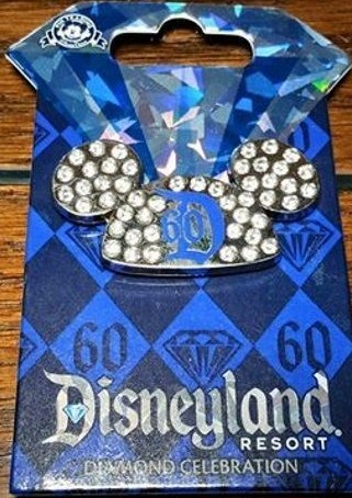 60th Anniversary Jeweled Mickey Ears