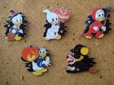 Huey, Dewey, Louie, Donald and Witch Hazel