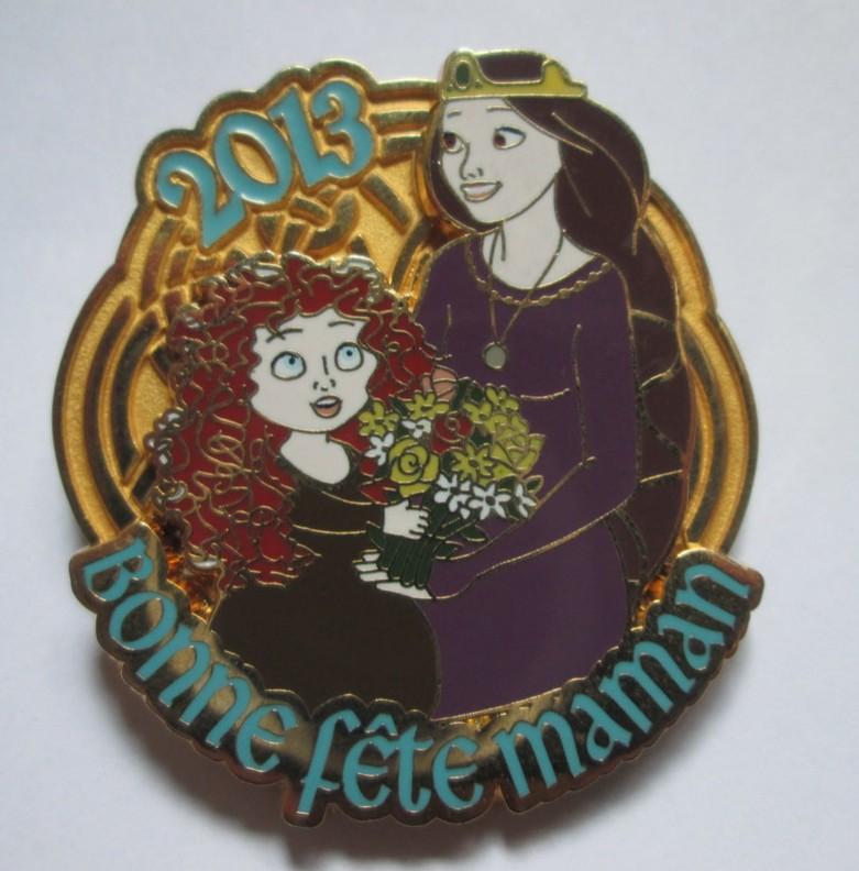 Elinor and Merida Bonne Fete Maman 2013