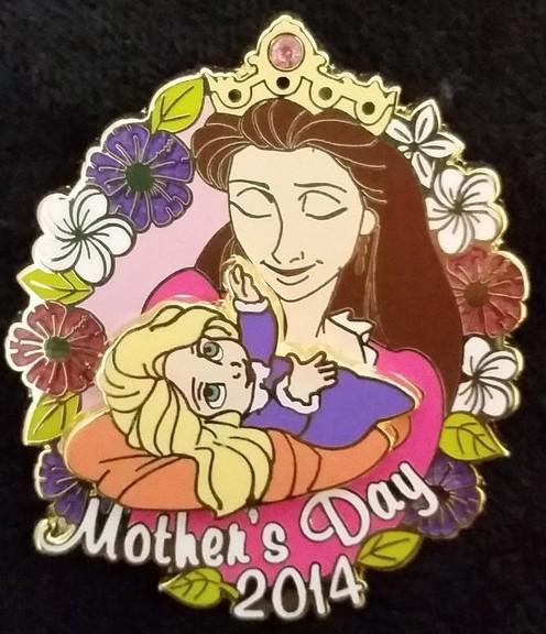 Queen and Baby Rapunzel