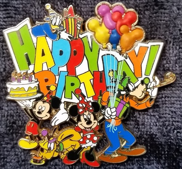 Micky, Minnie, Pluto, Goofy and Donald