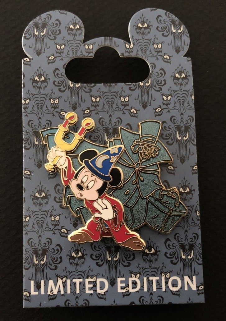 Sorcerer Mickey with Hat Box Ghost