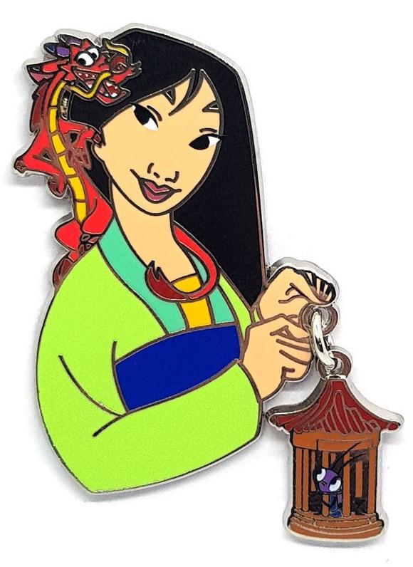 Mulan with Cri-Kee and Mushu