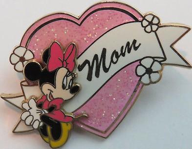 Mom (Minnie Mouse) Sparkle/3D