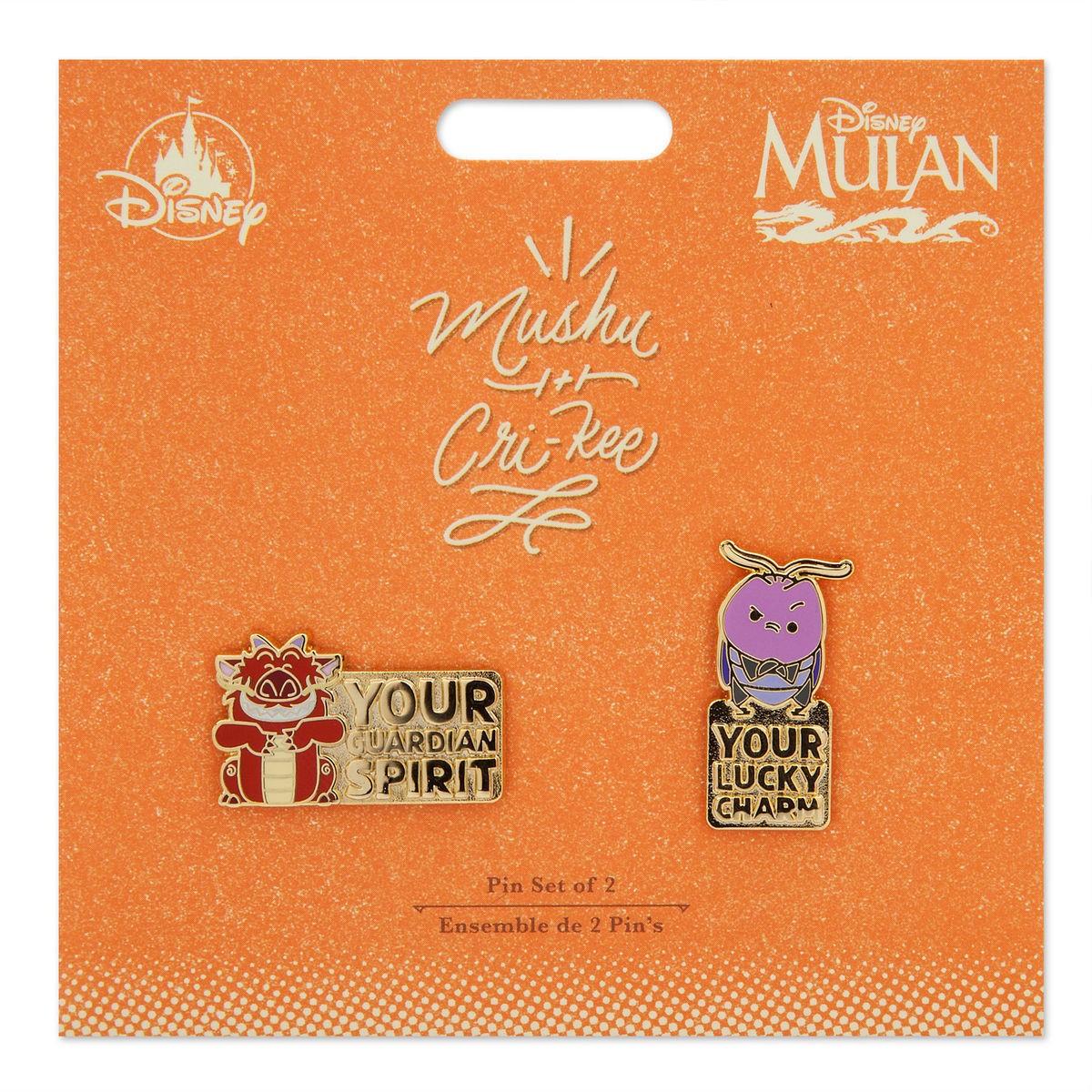 Mushu and Cri-Kee 2 pin set