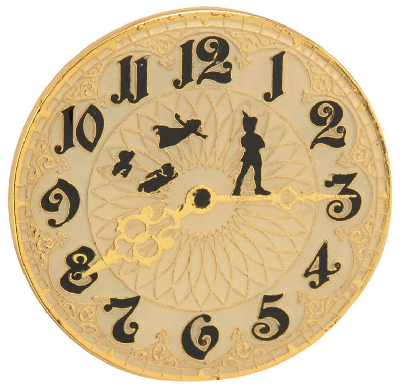 Clock Peter Pan