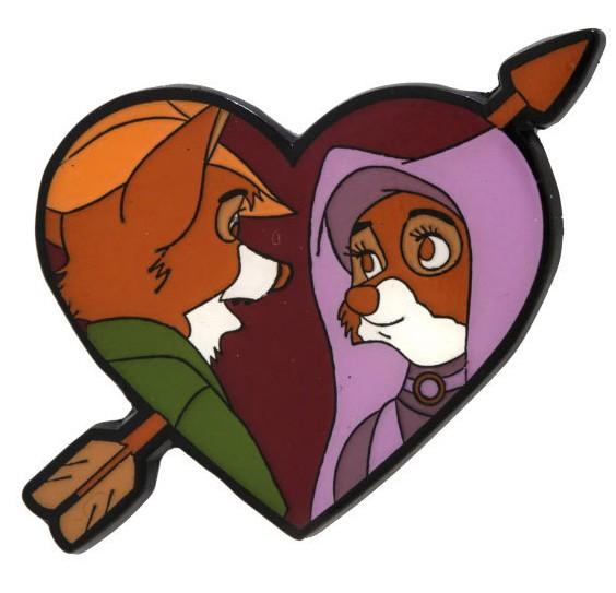 Robin & Maid Marian Heart