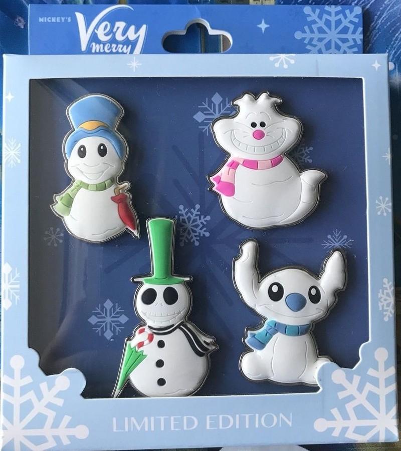 Snowmen 4-pin Boxed Set