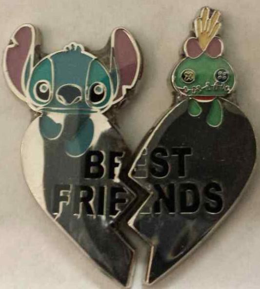 Stitch and Scrump Best Friends