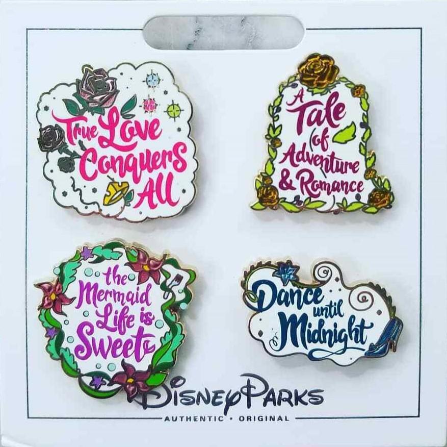 Princess Quotes (4 pin set)