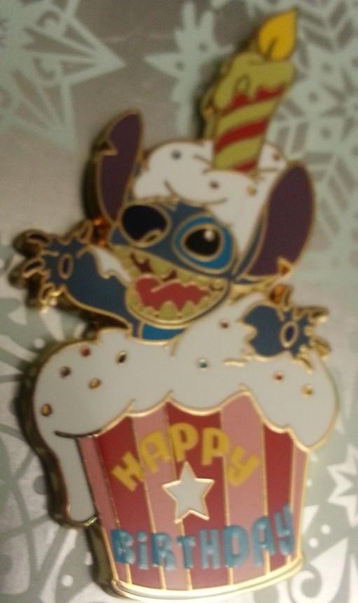 Happy Birthday Stitch Cupcake