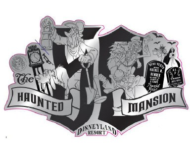 NEW Disney Parks Disneyland Haunted Mansion 50th Anniversary T Shirt SZ Large