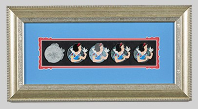 Snow White Artist Proof Framed Pin Set
