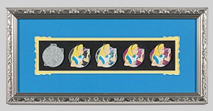 Alice Artist Proof Framed Pin Set