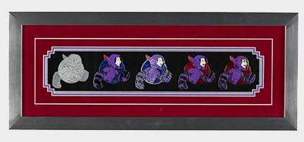 Hiro Pin Progression Artist Proof Framed Pin Set