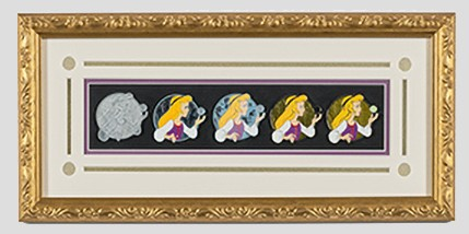 Eilonwy Artist Proof Framed Pin Set
