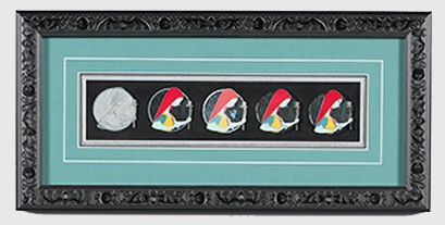 Sally Artist Proof Framed Pin Set