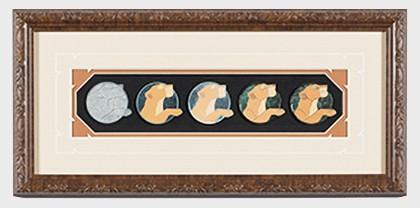 Nala Artist Proof Framed Pin Set