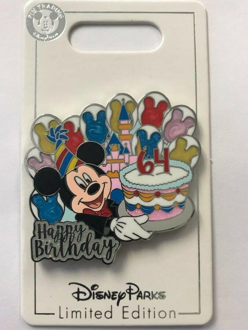 DLR - Happy Birthday Disneyland - 64th Birthday