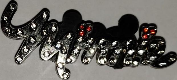 Jeweled Minnie Pin