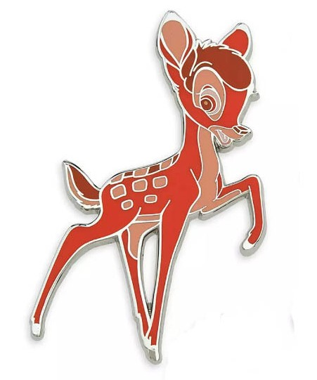 DS - Disney Wisdom Pin Set - Bambi - Bambi ONLY