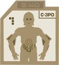 Droid Badge C-P3O