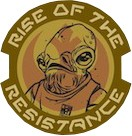 Rise of the Resistance Admiral Ackbar