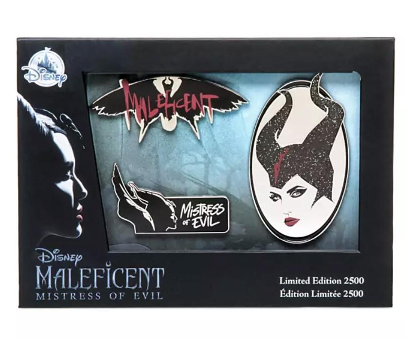 Maleficent: Mistress of Evil Pin Set