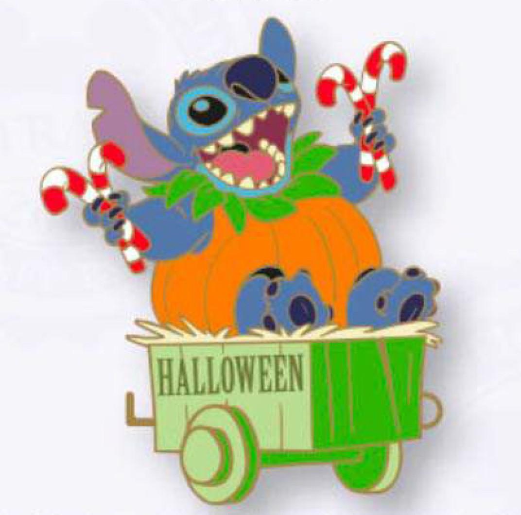 Stitch in Wagon