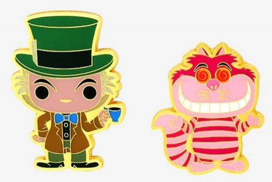 Mad Hatter and Cheshire Cat