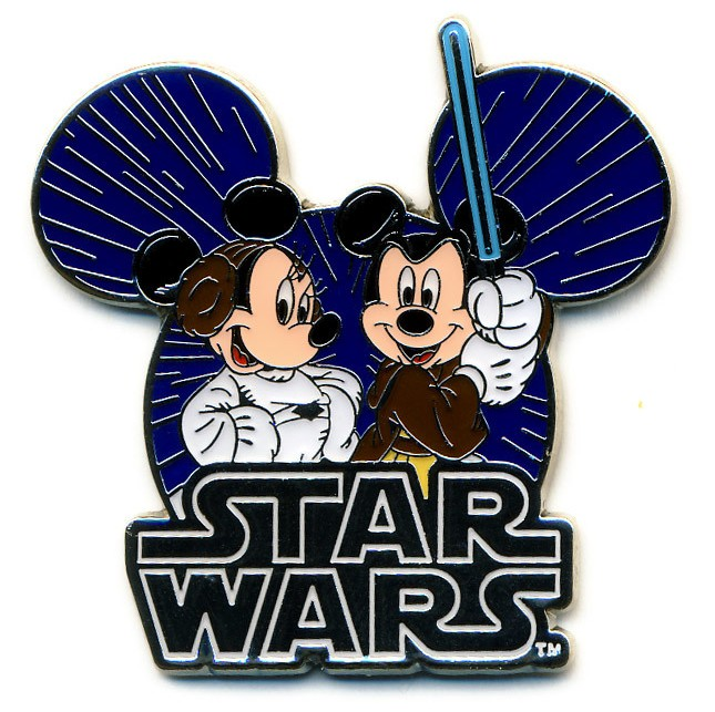 Jedi Mickey & Princess Minnie