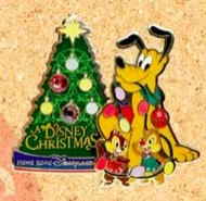 Pluto, Chip and Dale Christmas Tree