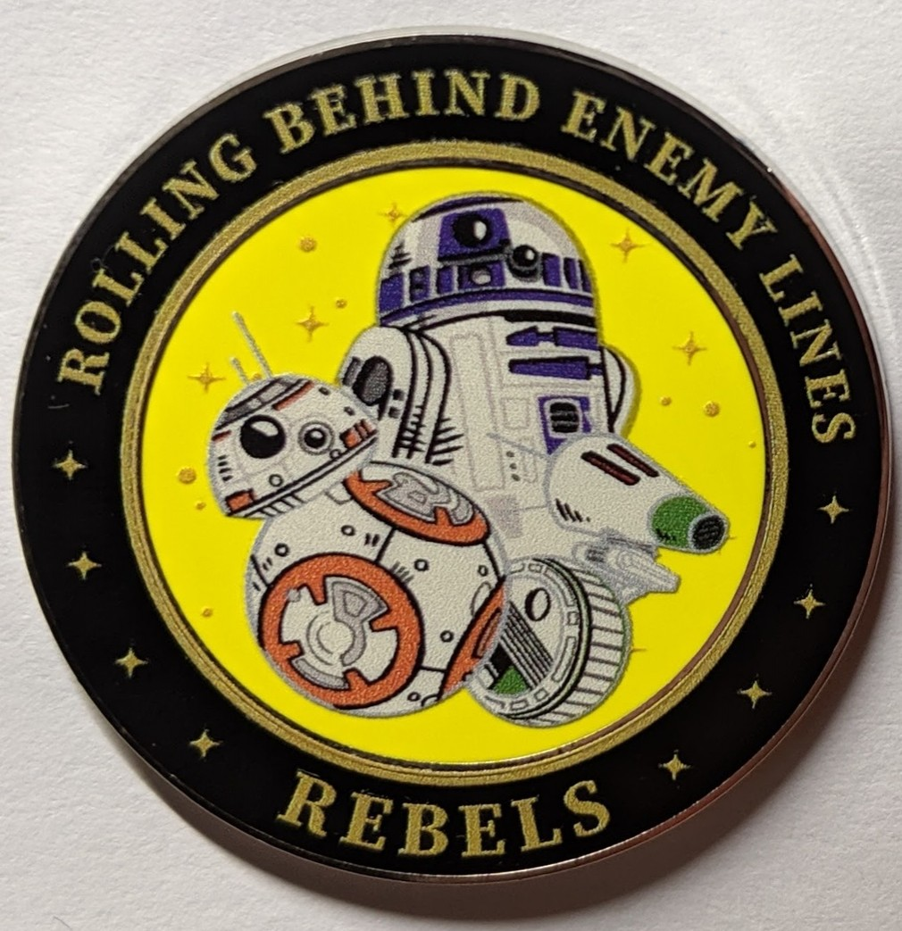 Rolling Behind Enemy Lines Droids