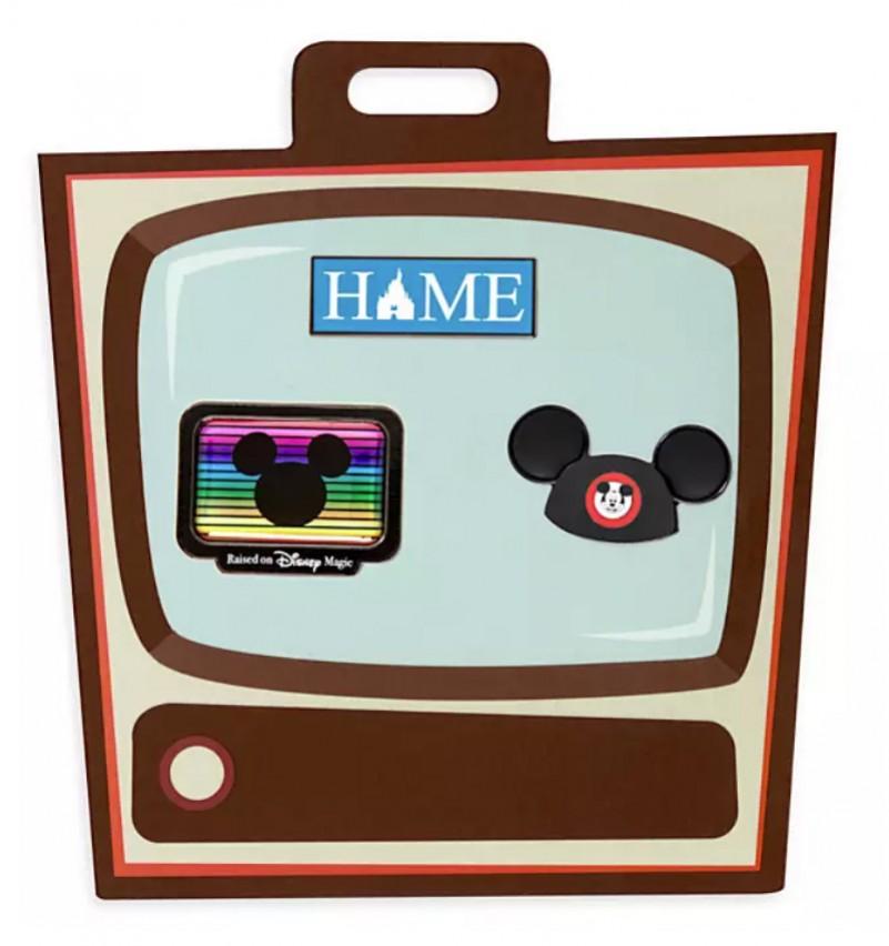 Disney Television Pin Set (3 pins)