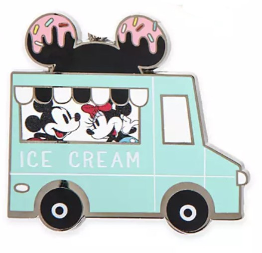 Mickey and Minnie Ice Cream Truck