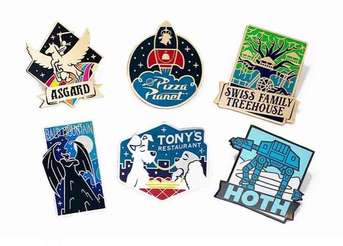 Vintage Travel Logos