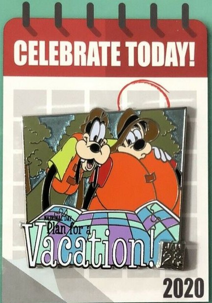 National Plan for a Vacation Day - Goofy and Max