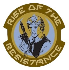 Rise of the Resistance Han Solo